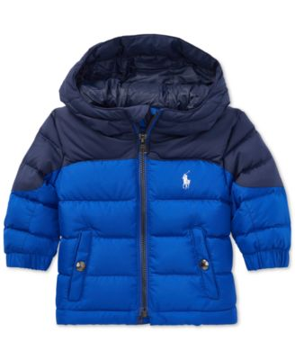 Polo Ralph Lauren Baby Boys Quilted Ripstop Down Jacket - Coats