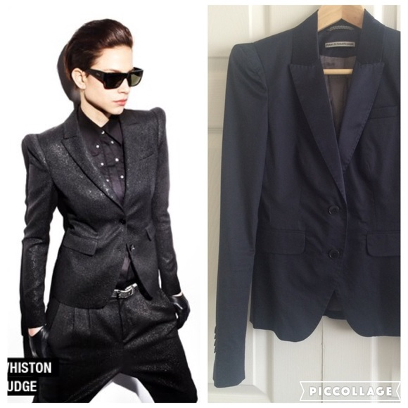 Drykorn Jackets & Coats | Whiston Blazer Navy Blue | Poshmark