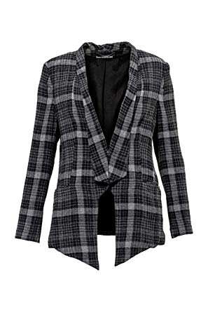 Drykorn Blazer PERIVALE, Color: Plaid, Size: L: Amazon.co.uk: Clothing