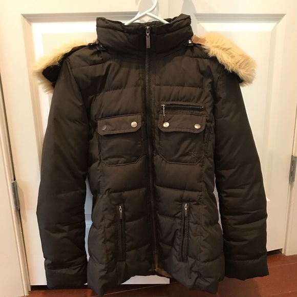Esprit Jackets & Coats | Brown Winter Coat | Poshmark
