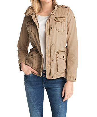 Amazon.com: Esprit Women's ESPRIT Winter Jacket 34 Beige: Clothing