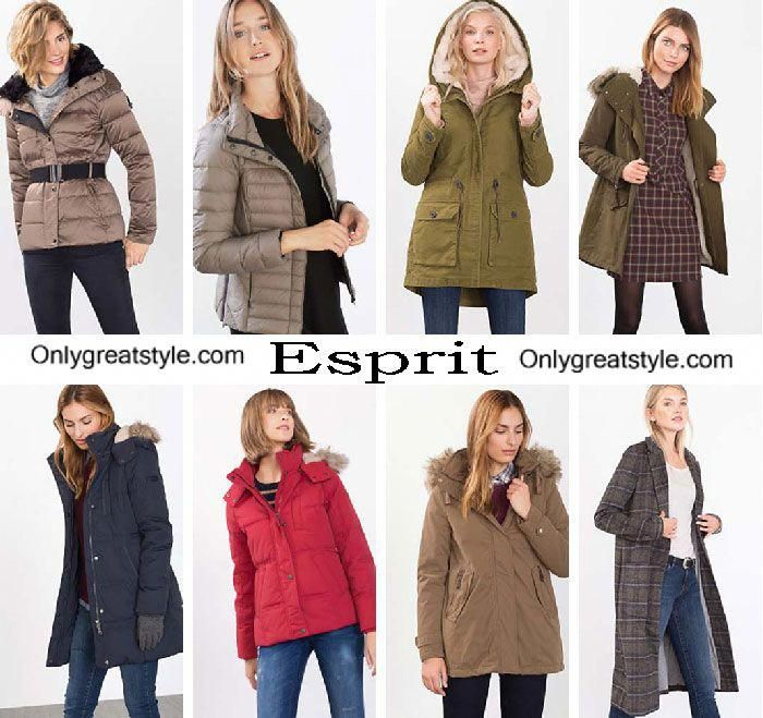 Esprit down jackets fall winter 2016 2017 for women #Women'scoats