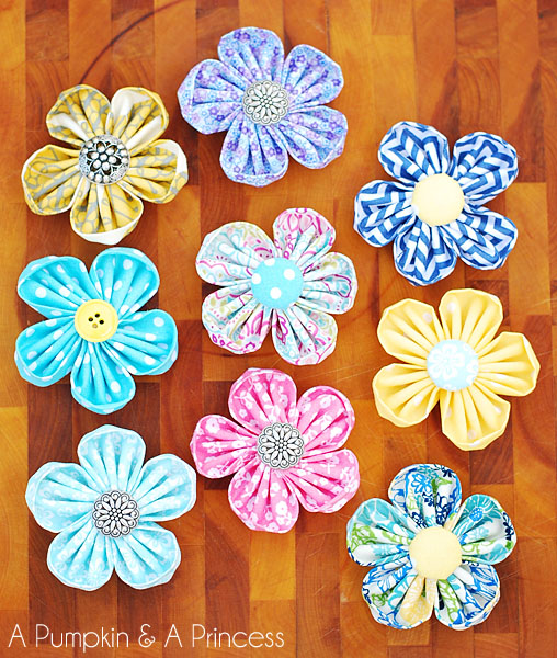 30+ DIY Fabric Flower Tutorials u2013 Make It and Love It