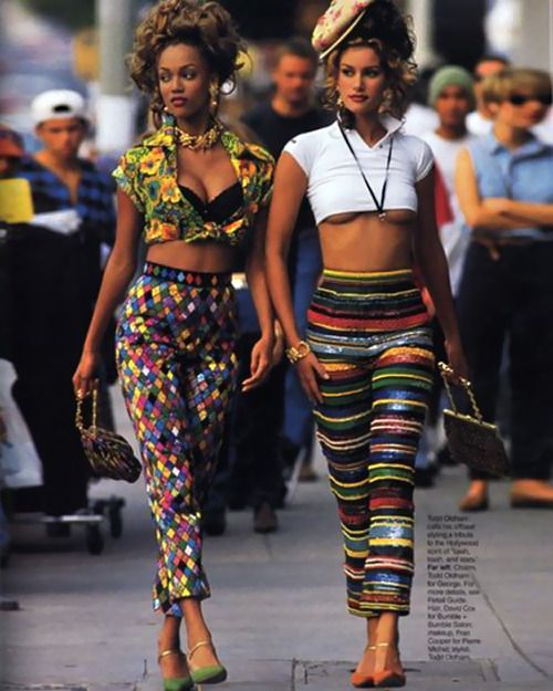 90s fashion bright colors | I love the 90s . | Pinterest | Fashion