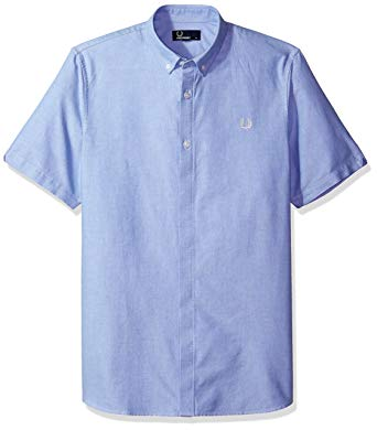 Amazon.com: Fred Perry Classic Oxford Cotton Shirt Small: Clothing