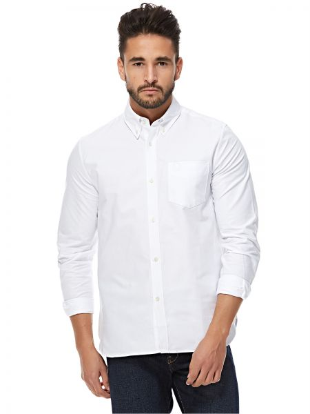 Fred Perry White Shirt Neck Shirts For Men | Souq - UAE