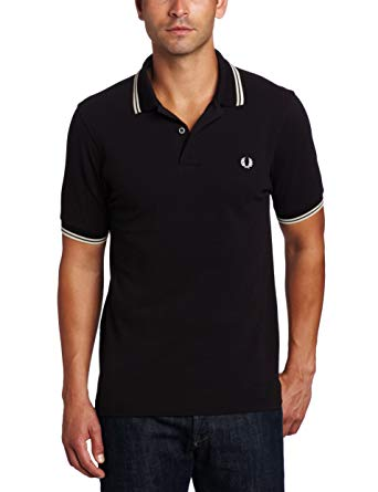 Amazon.com: Fred Perry Men's Twin Tipped Polo Shirt: Clothing