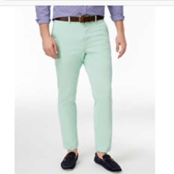 Club Room Pants | Slim Fit Stretch Mint Green Chinos | Poshmark