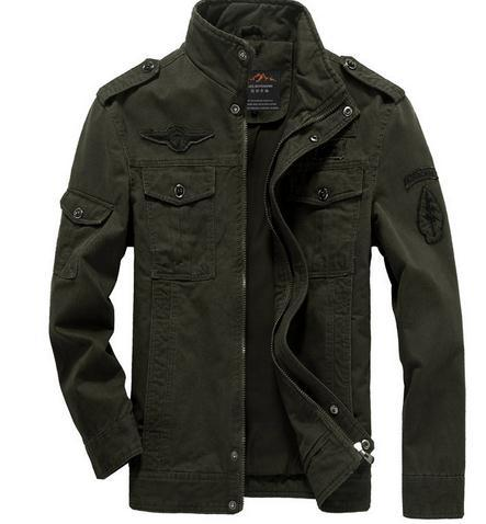 GREEN MEN'S JACKETS