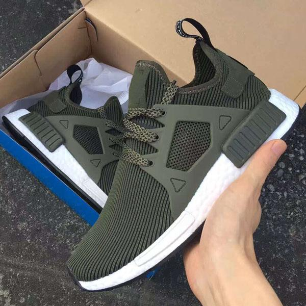 New Fashion Casual NMD XR1 Fall Olive Green Sneakers Women Men Youth