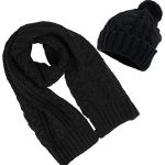 Cap and scarf sets