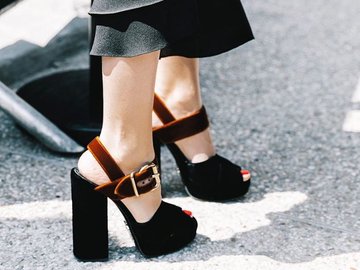 22 Pretty Pairs of Comfortable High-Heel Shoes | Who What Wear