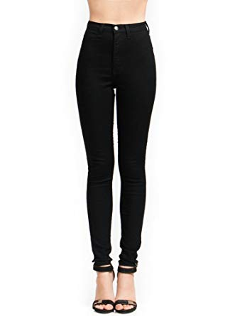 Vibrant High-Waisted Skinny Jeans at Amazon Women's Jeans store