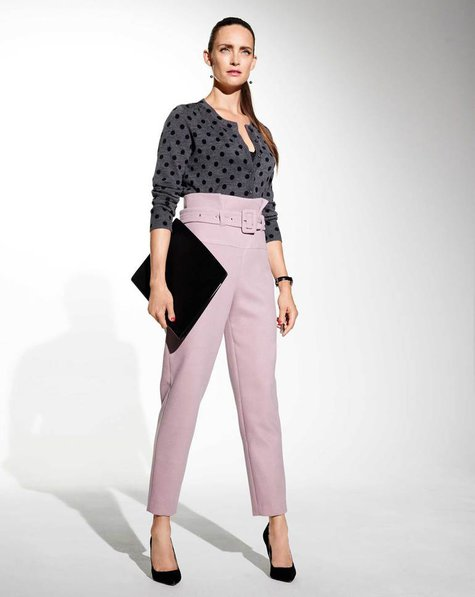 High Waist Belted Trousers 11/2017 #120 u2013 Sewing Patterns