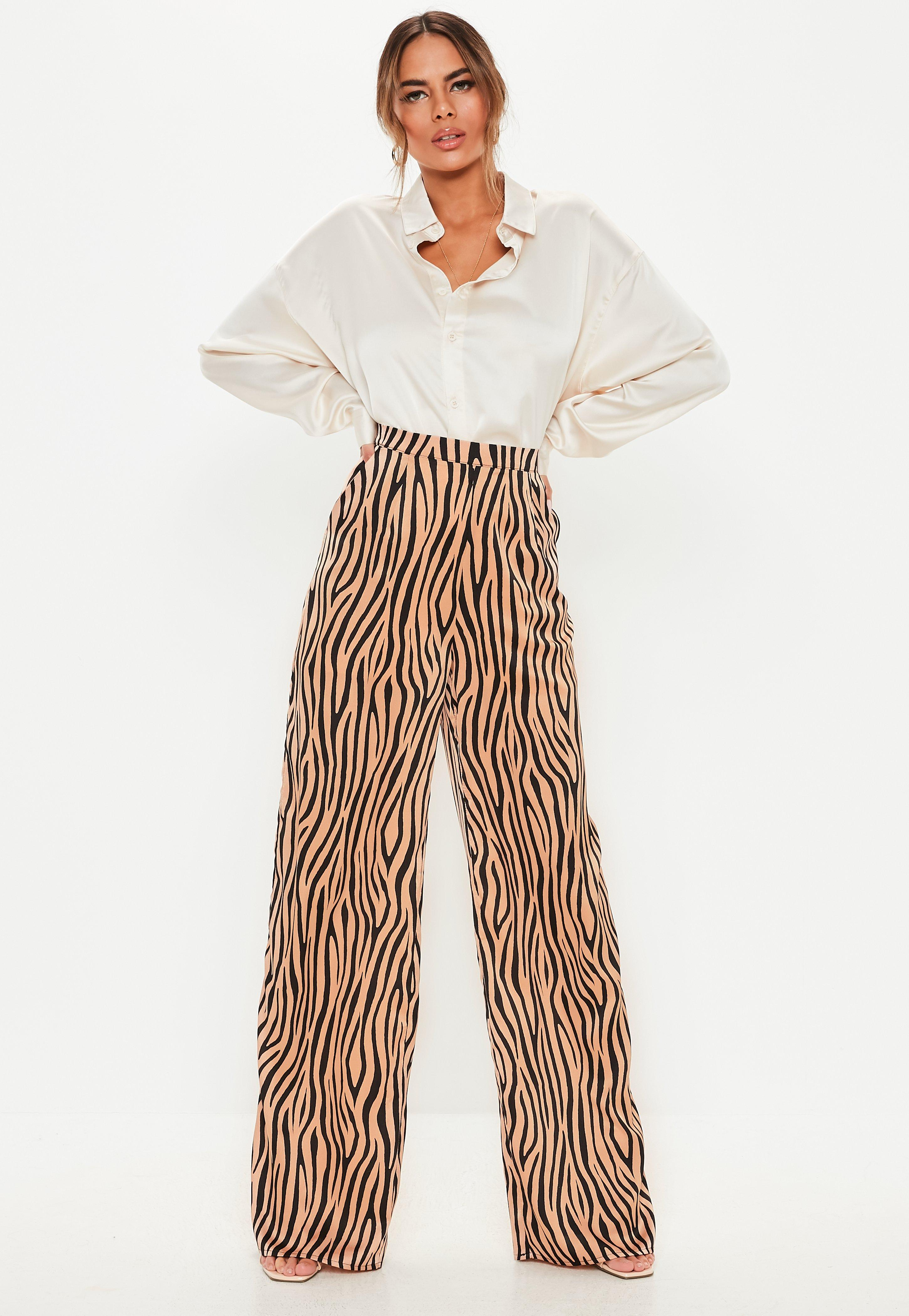 High Waisted Trousers | High Waisted Pants - Missguided
