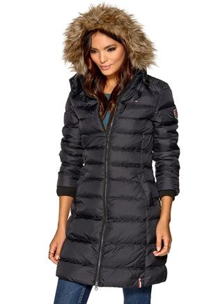 TOMMY HILFIGER DENIM Maria Down Jacket Tommy Black | Those beautiful