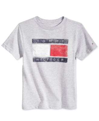 Tommy Hilfiger Tommy Flag Graphic-Print T-Shirt, Little Boys