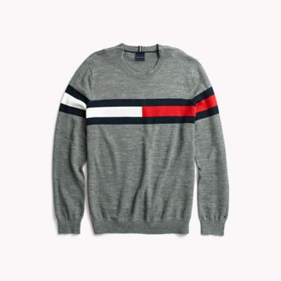 Flag Crewneck Sweater | Tommy Hilfiger