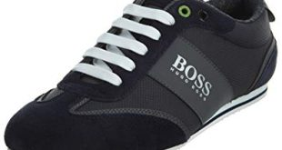 Amazon.com: Hugo Boss BOSS Men's Lighter Low Coated Canvas Suede