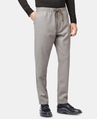Hugo Boss BOSS Men's Kirio Relaxed Fit Virgin Wool Trousers - Pants