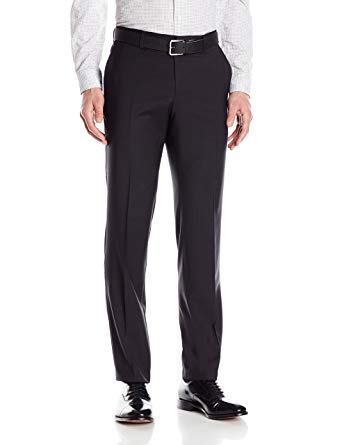 HUGO by Hugo Boss Men's Slim Fit Business Trousers, Black 36R at