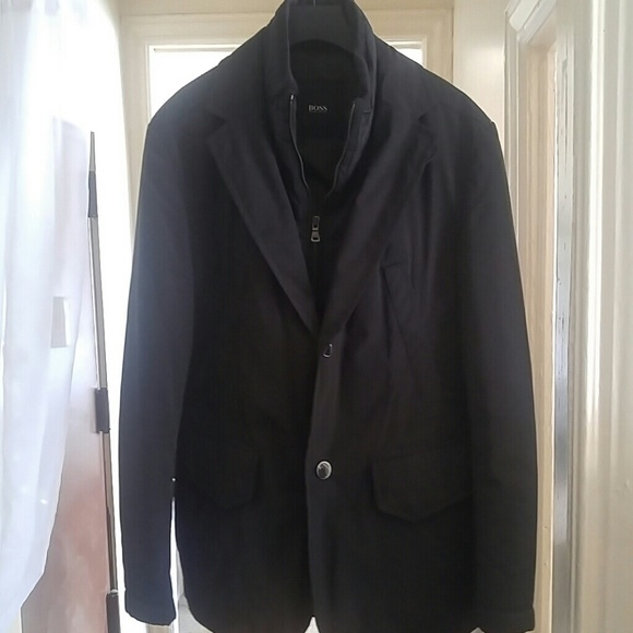 Hugo Boss Jackets & Coats | Mens Dress Casual Fallwinter Coat | Poshmark