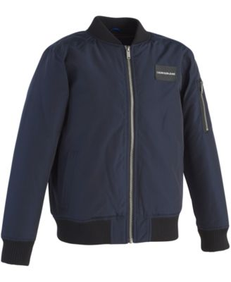 Calvin Klein Bomber Jacket, Little Boys - Coats & Jackets - Kids