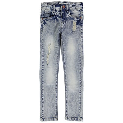 Name It Cium Tight Fit 5 Pocket Jeans, Size: 128: Sports & Outdoors