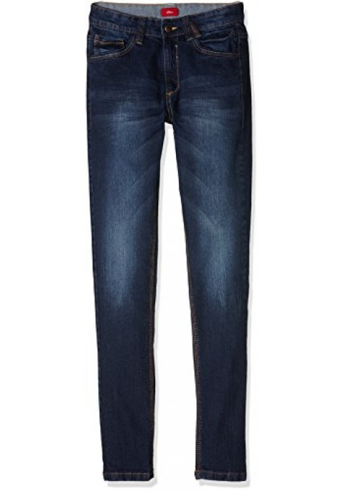 s.Oliver Boy's Kids (Size 128-176) Jeans - Blue - 15 Years