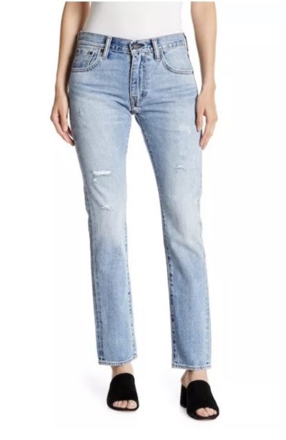Levi's Women's 505 C Slim Straight Jeans Size 26 X 30 Japanese