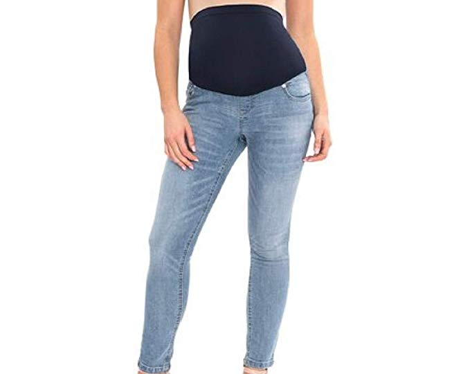 Great Expectations Maternity Full Panel Ankle Length Skinny Jeans