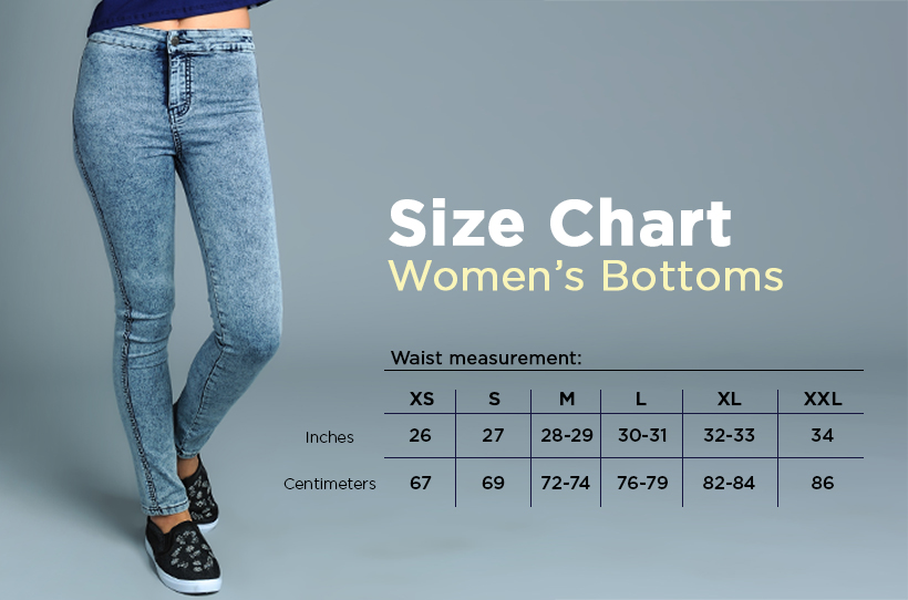 SIZE GUIDE | BENCH/ Online Store