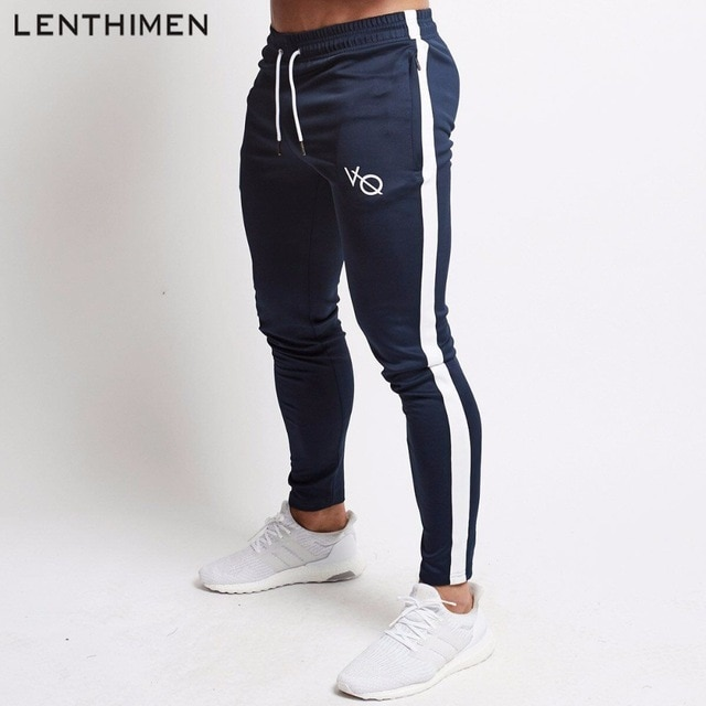 2018 Compression Jogging Pants Men Fitness Running Tights Quick Dry