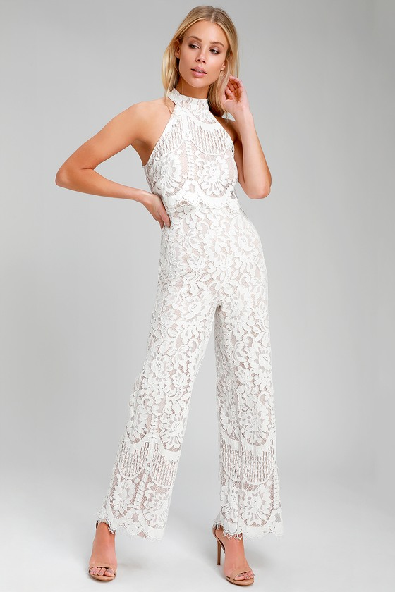 Jumpsuits with Lace
