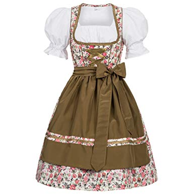 Amazon.com: Gaudi-leathers Women's German Dirndl Dress Costumes for