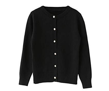 Amazon.com: SMILING PINKER Girls Cardigan Sweater School Uniforms