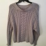 Knitted Sweater Womens