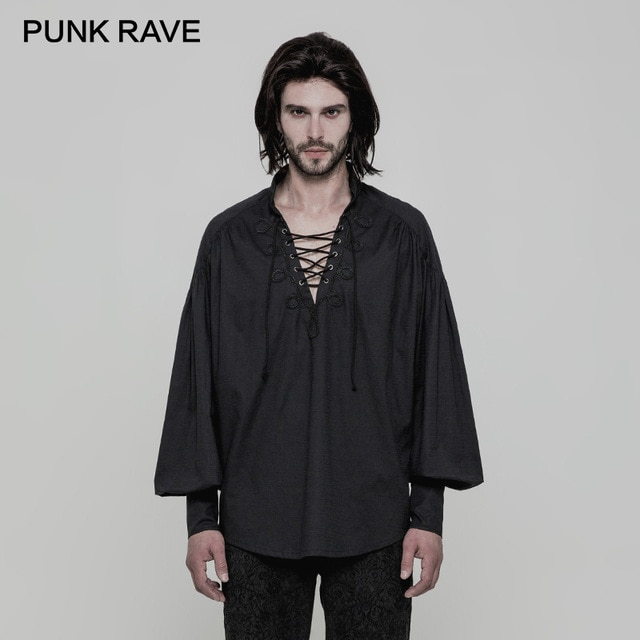 Aliexpress.com : Buy PUNK RAVE Gothic Laced Neck Stand Collar