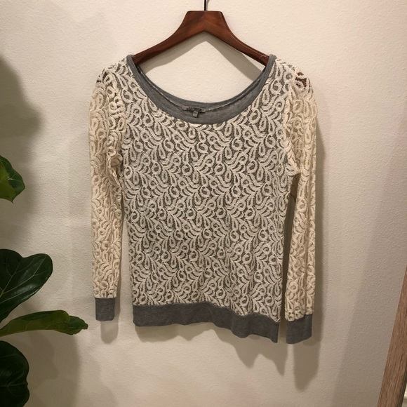 Anthropologie Sweaters | Laced Sweater From | Poshmark