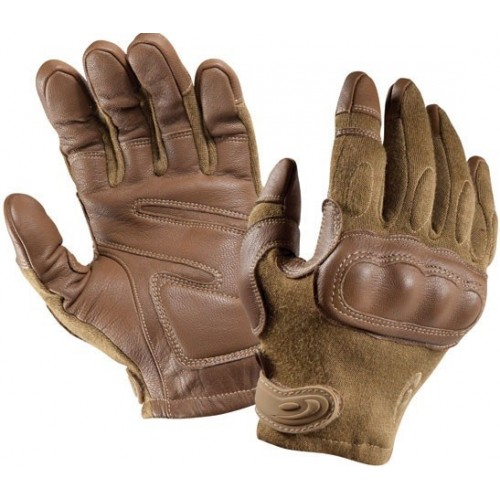 Leather Rider Motorcycle Brown Leather Gloves
