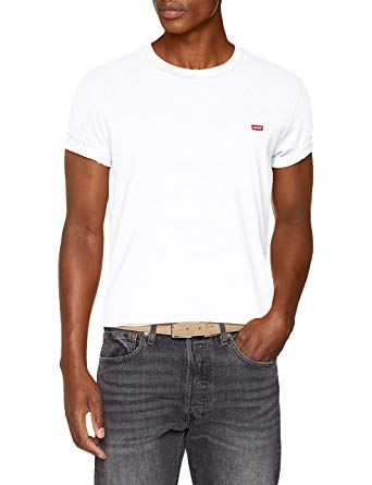 Levi's Men's Original T-Shirt, White | Amazon.com