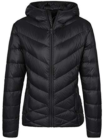 Amazon.com: Wantdo Women's Hooded Packable Ultra Light Down Jacket
