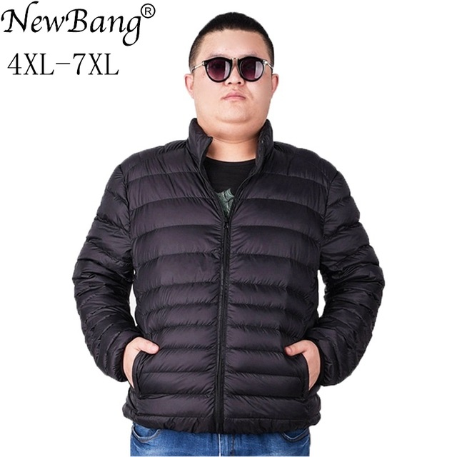 Aliexpress.com : Buy NewBang Brand Plus 7XL Ultra light Down Jacket