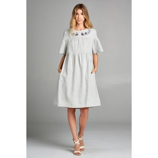 Linen Dresses | Find Great Women's Clothing Deals Shopping at Overstock