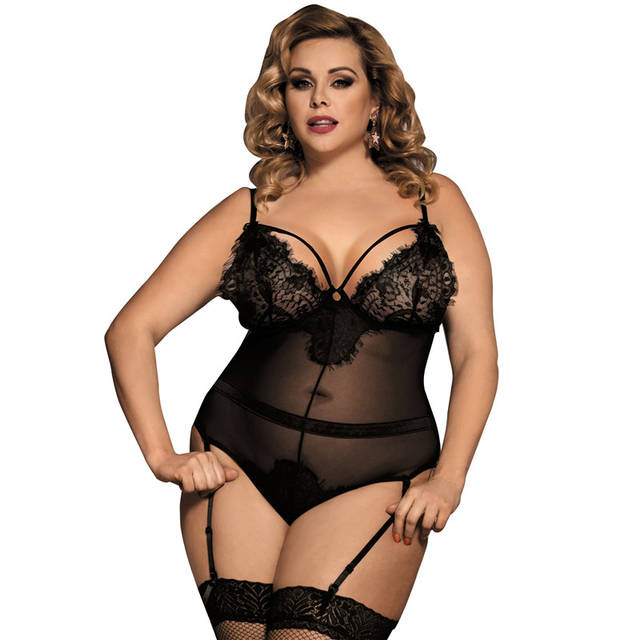 Online Shop Sexy Lingerie For Women For Sex Transparent Teddy