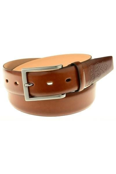 Lloyd Belts u2022 genuine leather u2022 cognac | Businesshemden.com