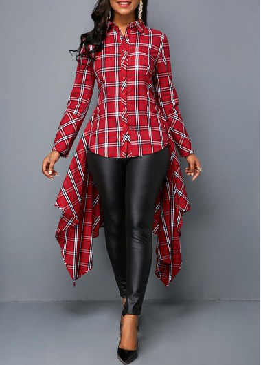 long Blouses & Shirts For Women Online Shop Free Shipping | Rosewe.com