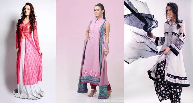Long Shirts Dress 2015 For Women With Palazzo Pants | Click Daily News