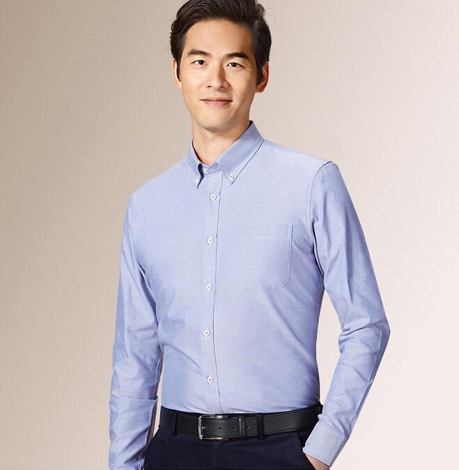 Leisure Men Long Sleeve Shirt Latest Men Long Sleeve Suit Shirt The