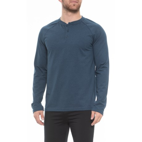 Gaiam Longevity Henley Shirt (For Men) - Save 68%